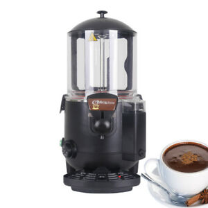 10l Black Hot Chocolate Dispenser Machine Ce Chocofairy Beverage Eu Uk In Stock