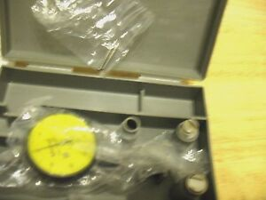 Mitutoyo 513 404t Dial Test Indicator Mm With Box Please See Pictures
