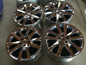 18 Inch 2011 2014 Ford Edge Used Factory Oem Chrome Clad Alloy Rims Wheels
