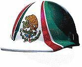 Fibre metal By Honeywelll E2rw00a285 Mexican Flag Graphics Brim Safety Hat
