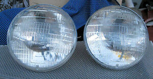 Corvette 1955 1956 1957 Headlight Wagner Beam Bulbs New Head Lamp Light