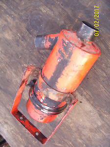 Vintage Ji Case 311 Gas Tractor engine Air Cleaner Brkt 1956