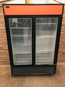 2011 True Gdm 49f Freezer Double Glass Door 49 Cu Ft