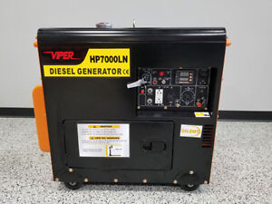 2018 Viper Hp7000ln 5kw Generator 120 240v Air Cooled Electric Start 60hz