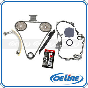 Timing Chain Timing Cover Gasket Kit Fit 00 11 Chevrolet 2 0l 2 2l Ecotec Z22se