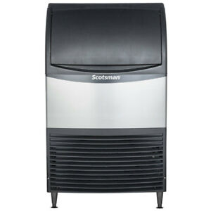 Scotsman 20 Air Cooled Undercounter Medium Cube Ice Machine 100 Lb With Filter