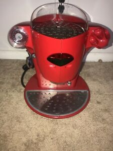 Elektra Nivola w Expresso Cappuccino Machine Mint Condition Red