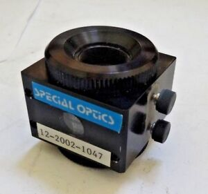 Special Optics 2 Layer Laser Focusing Objective Lens Bench 15 345mm Risley Prism