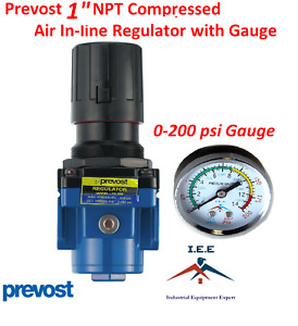 1 Female Npt Compressed Air In Line Regulator 225 Max Psi Prevost 212 Scfm