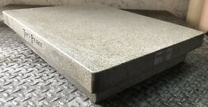 Standridge Granite Inspection Surface Plate 24 X 18 X 4 Laboratory Industrial