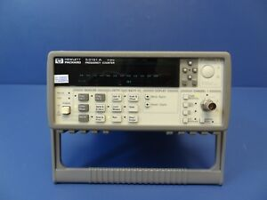 Agilent 53181a Rf Frequency Counter 10 Digit sec No Options