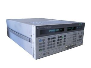 Hewlett Packard Hp 8644b Synthesized Signal Generator 0 26 1030mhz Opt 003 005