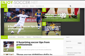 Soccer Blog Website For Sale Da23 50 Links Domain Futbal Futbol