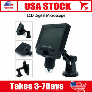 4 3 Lcd Digital Microscope Magnification Recorder Camera Video Magnifier 3 6mp