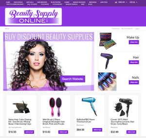 Turnkey Beauty Supply Amazon Affiliate Website For Sale Fashion Domain Name Blog