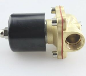Akent Dc12v Electric Solenoid Valve npt Brass Normally Closed 1