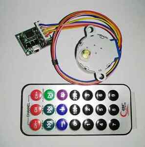 Dc 5v 4 phase 5 wire Stepper Motor remote Control Speed Wireless driver Board