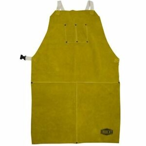 Ironcat 7010 Heat Resistant Leather Apron 24 Width X 36 Height Tan