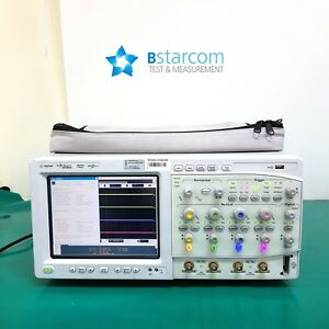 Agilent Mso8064a Infiniium Mixed Signal Oscilloscope 600 Mhz 4 Scope 16 Channel