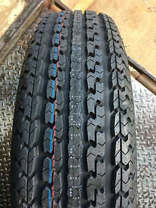2 New St 205 75r15 C Turnpike Trailer Radial Tire 6ply 205 75 15 St 2057515 R15