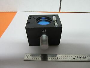 Microscope Nikon Cube B1 Objective Part Dic With Optics Nomarski Bin b1 r 10