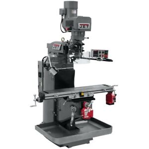 Jet 690503 Jtm 949evs Mill With X And Y axis Powerfeeds