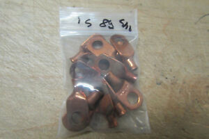 15 Copper Lugs Eye Lets 8g 5 16 Stud Size Battery Cable Ends 3 3