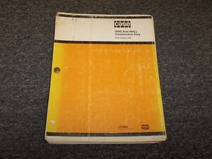 Case 480d 480ll Construction King Ck Industrial Tractor Parts Catalog Manual