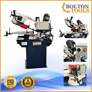Bolton Tools 8 5 8 X 10 Horizontal Band Saw Metal Cutting Bs 280g