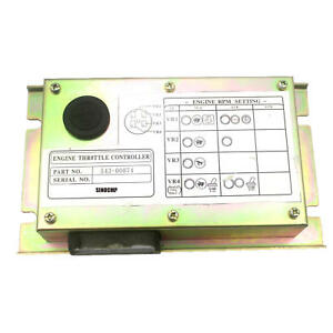 543 00074 Engine Throttle Controller For Daewoo Excavator Dh225 7 1 Year Wty