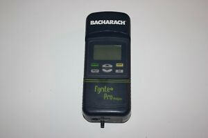 Bacharach Fyrite Pro combustion Gas Analyzer F1 F2 F3 F4