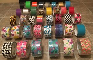 Duck Brand Duct Tape 38 Rolls 5 New Others Have Varying Amounts Per Roll