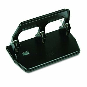 Master 40 sheet 3 hole Punch With Comfort Handle Black matmp50 Free2dayship