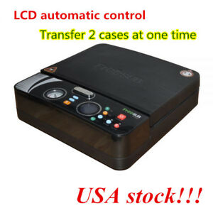 Us Stock 3d Sublimation Vacuum Heat Press Machine Small Light For Phone Cases
