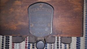 Early Model T Pfanstiehl Wooden Coil Box Rare
