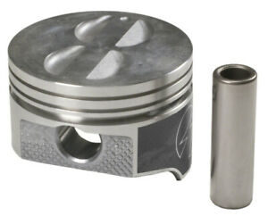Speed Pro H400cp Pistons 8 pack Hypereutectic Flat Chevy 400 W 5 565 Rod