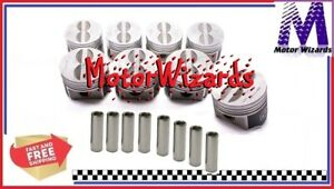 Speed Pro L2355f30 Forged Pistons 8 pack Flat Top For Mopar 440 030