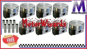 Chevy 396 325 350hp Bbc Speed Pro L2240nf60 Forged Pistons 8 Pack 21cc Dome 060