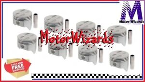Sealed Power 295p30 Pistons 8 pack For Chevy Chevrolet Gmc 307 030
