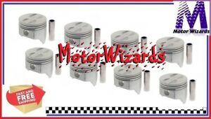 Sealed Power 295p40 Pistons 8 pack For Chevy Chevrolet Gmc 307 040