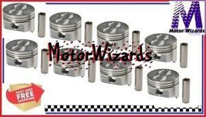 Chevy Buick Olds Pontiac 305 5 0 Sealed Power 534np Pistons 8 pack Std