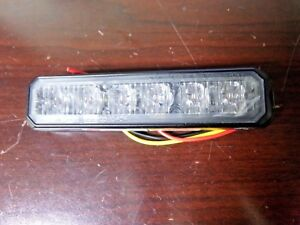 Federal Signal Perimeter Light led amber 5 In L ef