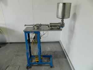 Philip Bock Model 300 Single Head Piston Filler Filling Machine