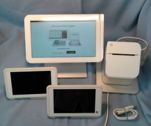 Clover Point Of Sale Used System C100 P100 C201 3g Pos Tablet Printer