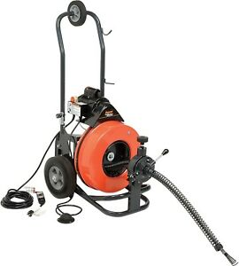 General Wire P me c s The Metro Drain sewer Cleaning Machine W 100 X 9 16 4