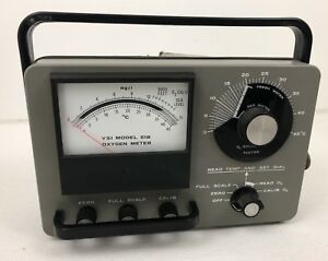 Oxygen Meter Ysi Incorporated Model 51b Yellow Springs