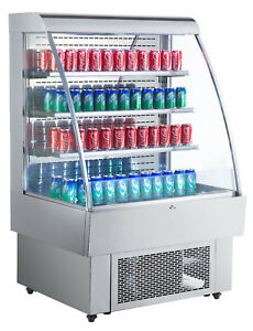 Commercial 40in Open Air Refrigeration Display Case Grab And Go Merchandisercase