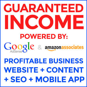 Guaranteed Income Profitable Website Mobile App Make At Least 150 month