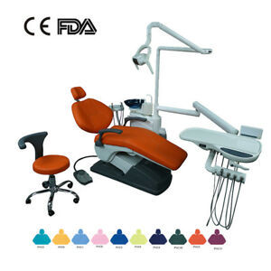 Ca Dental Unit Chair Computer Controlled Dc Motor water Supply three Way Syringe