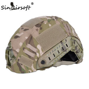 EMERSON Airsoft Military Tactical Helmet Cover For Fast Helmet Multicam BJPJMH